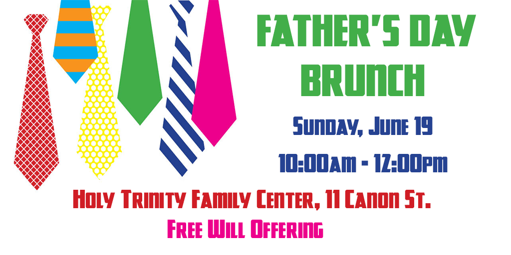 Father's Day Brunch 2016