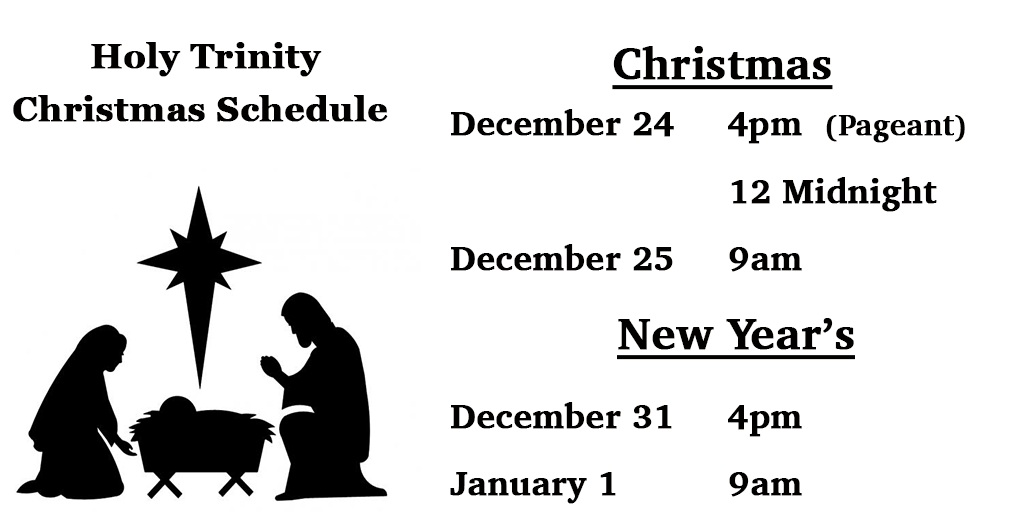 2016-holy-trinity-christmas-schedule