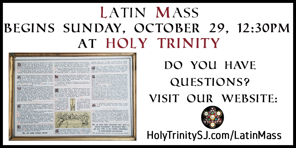 Latin Mass Questions